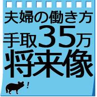 【夫婦二人暮らし】給料手取り35万円の生活費/将来イメージ