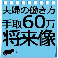 【夫婦二人暮らし】給料手取り60万円の生活費/将来イメージ